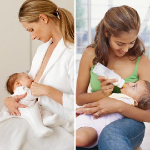 a comparison of breastfeeding and bottle feeding